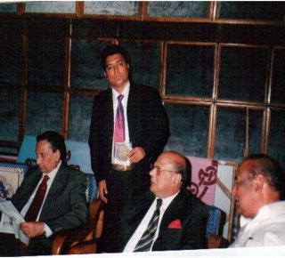 S M kamal Hossain with Former Chief Advisor Chief Justice Latifur Rahman, Justice Joynul Abedin & MP Abdul Jabbars in an ICT & HIGHER EDUCATION RELATED MEETING.